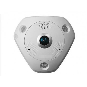12MP Full HD 15M IR 360 Degree View Angle ICR Fisheye Network Camera Smart IPC IP CCTV Camera Support Heat Map