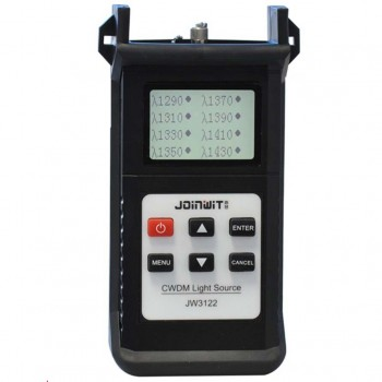 FF-3122A CWDM Laser Source 1290/1310/1330/1350/1370/1390/1410/1430nm, Output Power -8~-18dBm, Step 0.01dBm