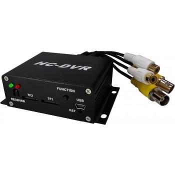 Dual Card 128GB Large Storage TF / SD Card Mini DVR 1CH Video+1CH Audio H.264 HDMI USB CCTV Camera Video Recorder
