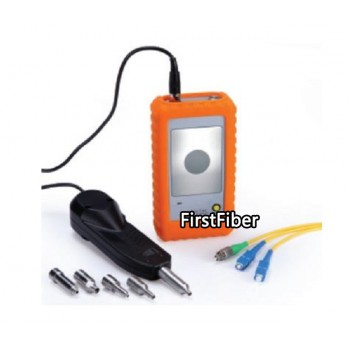FF-600AH Fiber Optic MicroScope Fiber Optic Connector Inspection Video optical fiber Inspection Probe and Display 250X