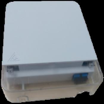 FF-FOS1B 1 Core FTTH Fiber Socket (Max Capacity: 1 cores ), Wall Mounting, 115x86x23mm