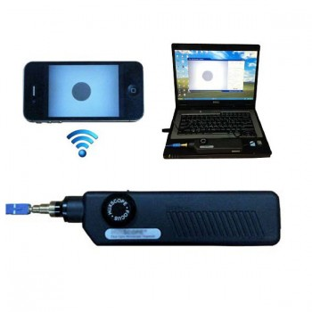 Fiber Optic Microscope Inspector WiFi USB,Support iOS,Android,Win8/7/XP,400X