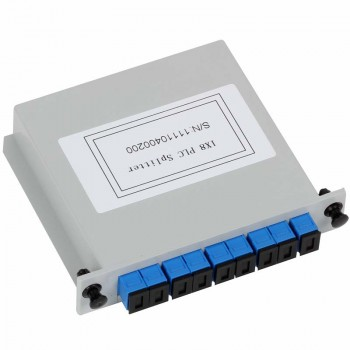 Customization - Insertion Type PLC Splitter, ( 1xN, 2xN for Option ) , G657A Fiber, with strong outside package
