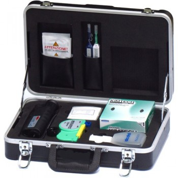 Optical Fiber Inspection & Cleaning Kit