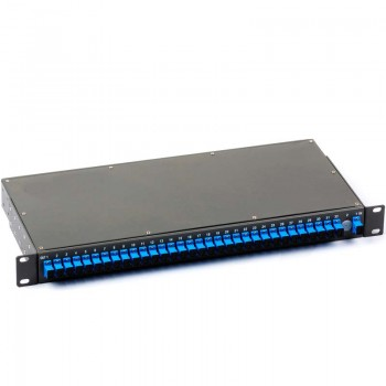 Customization - Rack Type PLC Splitter, ( 1xN, 2xN for Option ) , G657A Fiber, with strong outside package