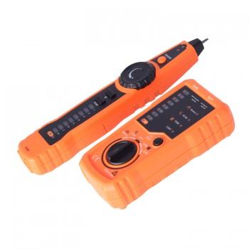 RJ11 RJ45 Cat5e 6 Phone Line Tracker Oscilloscope Carbon Powder Ethernet LAN Network Cable Tester Detector