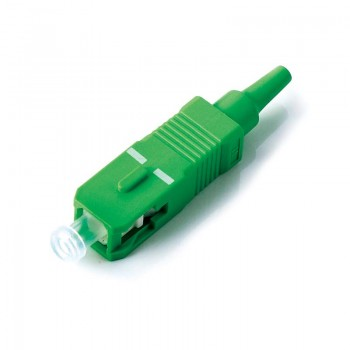SC/APC Epoxy Connector with 0.9mm Boot