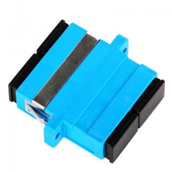 Mating sleeve adaptor, SC/UPC & SC/UPC connecting port, duplex, rectangle shape, zirconia internal tube