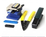 5 In 1 FTTH Fiber Optic Tool Kit with Fiber Cleaver and Fiber stripping + pliers Wire stripper Use in Ftth Fttx
