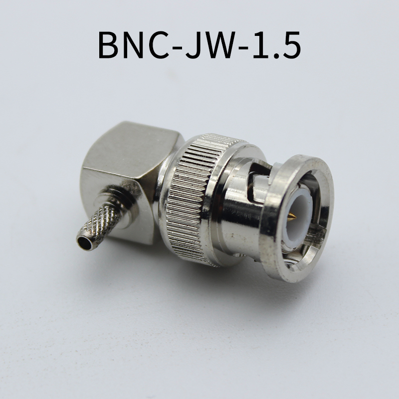 BNC Elbow Connector BNC-JW-1.5 BNC-JW-3 for 50-3 RG142 316 Feeder Cable