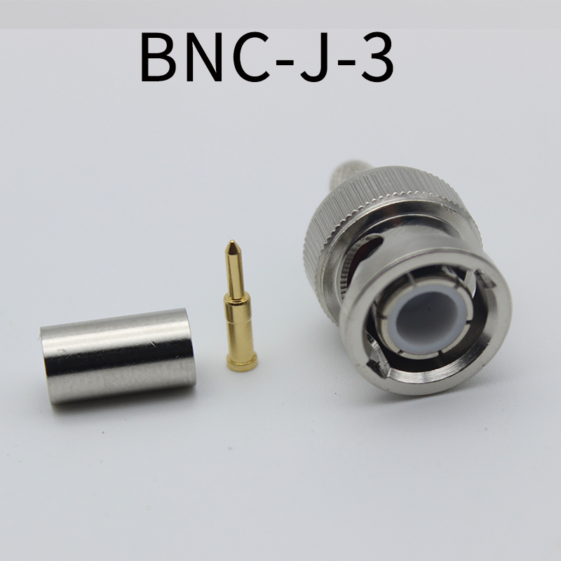 BNC Connector BNC-J-1.5 BNC-J-3 for 50-3 RG142 316 Coaxial Cable