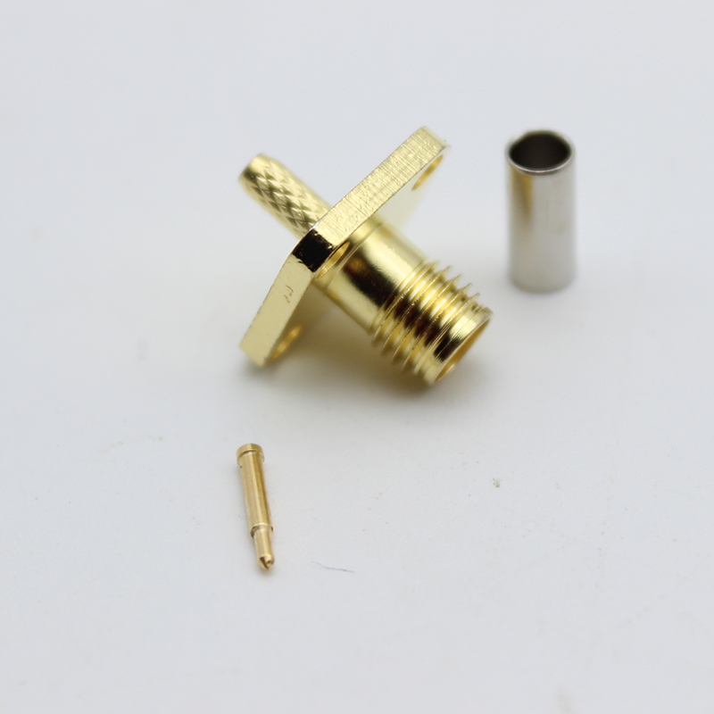 SMA-KF-1.5 SAM Adapter for RG316 Coaxial Cable