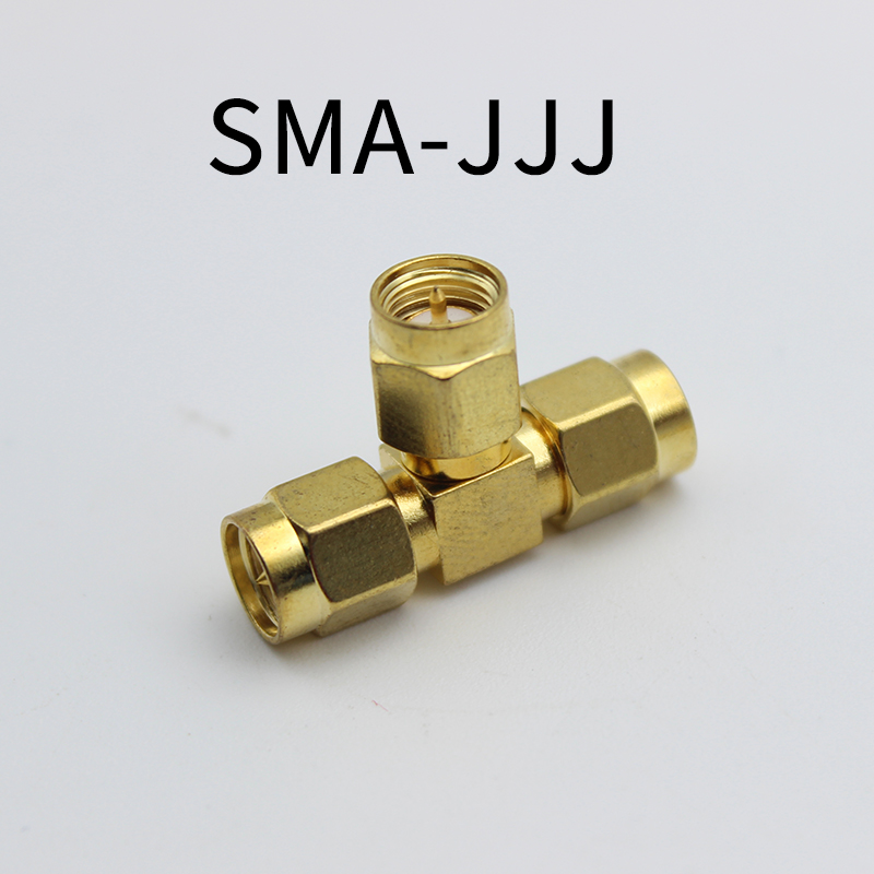 SMA Triple T Type RF Connector