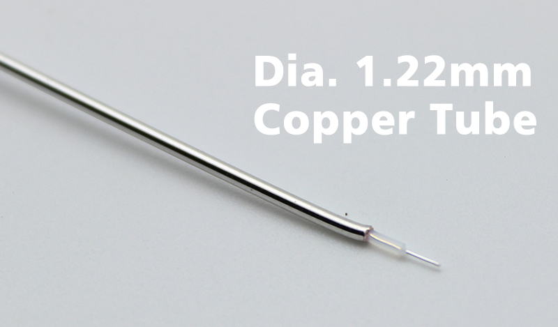 SMA with copper tube