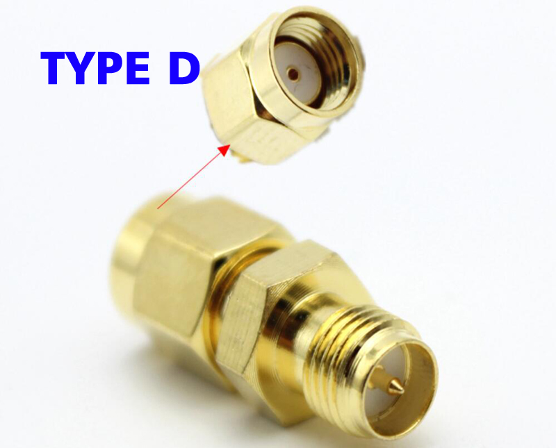 Coaxial SMA to SMA Connector Adapter SMA RF Connector