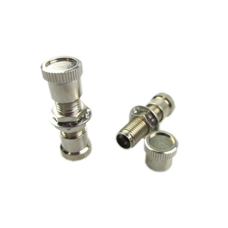 Adapter Optical Fiber Connector Metal SMA905/SMA906 Female to Female Flange