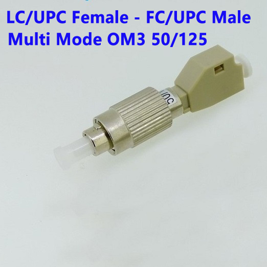 LC female to FC male adapter
