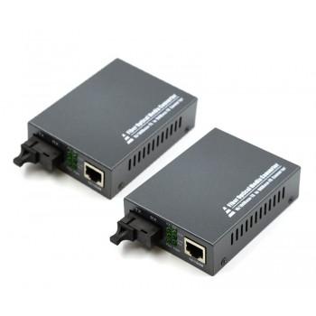 1 Fiber Ethernet Converter, BIDI WDM, SC, 80km 10/100BASE-TX to 100BASE-FX BIDI WDM