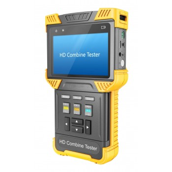 4.0 Inch HD Combine Tester IP Camera IPC CCTV Tester With TDR Cable Test Support ONVIF, RTSP, RTP / 485 POE
