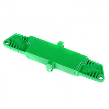 Mating sleeve adapter, E2000/APC & E2000/APC connecting port, simplex, zirconia internal tube