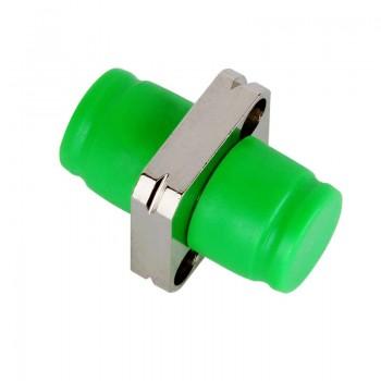 Mating sleeve adaptor, FC/APC & FC/APC connecting port, simplex, circle shape, zirconia internal tube, metal material