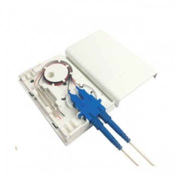 FF-FOS2L 2 Port Access Terminal Box ATB Fiber Faceplate Socket