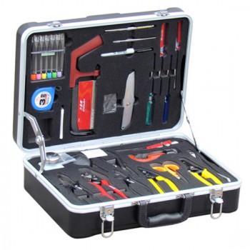26 in 1 Fiber Optic Fusion Splicing Tool Kit, Model#HW-6300N