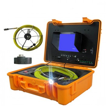 Industrial Pipe Video Inspection System with 7inch LCD Monitor / USB DVR function Sewer/ Drain cameras