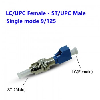 LC Female - ST male Fiber Connector Jointer Optical Fiber LC to ST Coupler Adapter