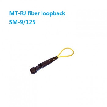 Duplex PVC MTRJ SM OM1 OM2 OM3 Single mode Multimode Fiber Loopback Module