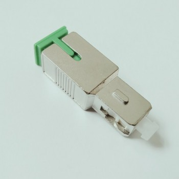 SC/APC Female to SC/UPC Male Adapter Fiber Connector Cable Coupler