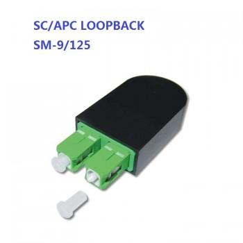 Duplex PVC SM OM1 OM2 OM3 Single mode Multimode Fiber Loopback Module