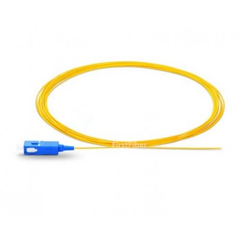 SC UPC fiber Pigtail Simplex 9/125 Single Mode Fiber Optic Pigtail 0.9mm