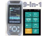 FF-980REV mini pro OTDR Reflectometer 9 functions in 1 device OPM OLS VFL Event Map RJ45 Ethernet Cable Sequence Distance Tracker