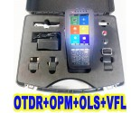 Reliable 980PRO Fiber Optic OTDR Tester Reflectometer 4 in 1 OPM OLS VFL Touch Screen FC SC ST with Strong Plastic Carrying Case