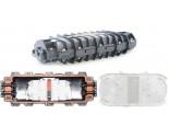 FOSCIR4 Inline Type Fiber Optic Splice Closure (FOSC)