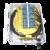 FF-FTB36A 36 Cores Optical Terminal Box (Max Capacity: 36 cores SC), Wall Mounting, Pole Mounting, 420x320x125mm