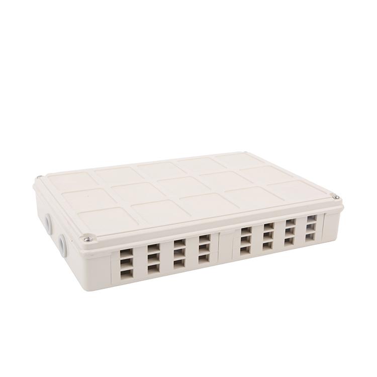 24 cores plastic fiber box