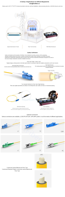 Optical fiber pigtail